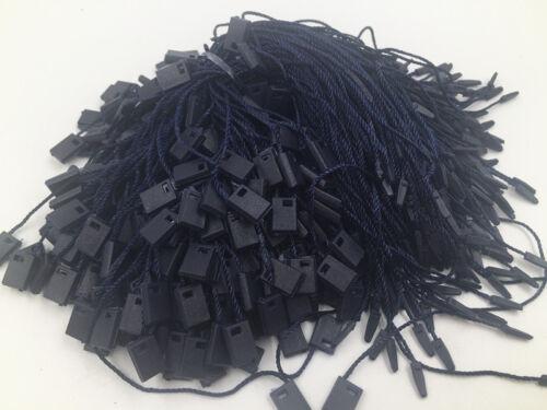 100PCS Clothing Tag square end hang tag String Lock Fastener Tagging Supplies