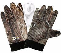 Jacob Ash Hot Shot Ringneck Gloves Silicon Grip Palm Men One Size
