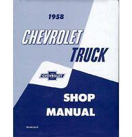 1958 Chevy Truck Shop Manual