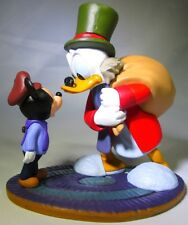 SCROOGE MCDUCK Tiny Tim DISNEY Mickey's Christmas Carol PVC TOY Figure FIGURINE!