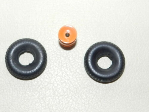 2 pneu 20 x 8 dinky 36B willeme baché  roue double orange neuf