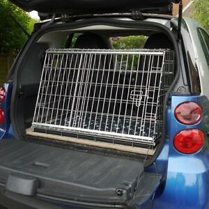 New Smart Car Sloping Car Dog Cage Boot Travel Crate Puppy Guard