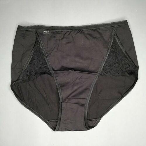 Sloggi Pure Lace Maxi Damen Slips Schwarz Weiß Neu