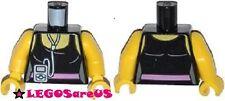 LEGO Minifig Female TORSO Pink Belt Music Player LEGO Movie CARDIO CARRIE 70804