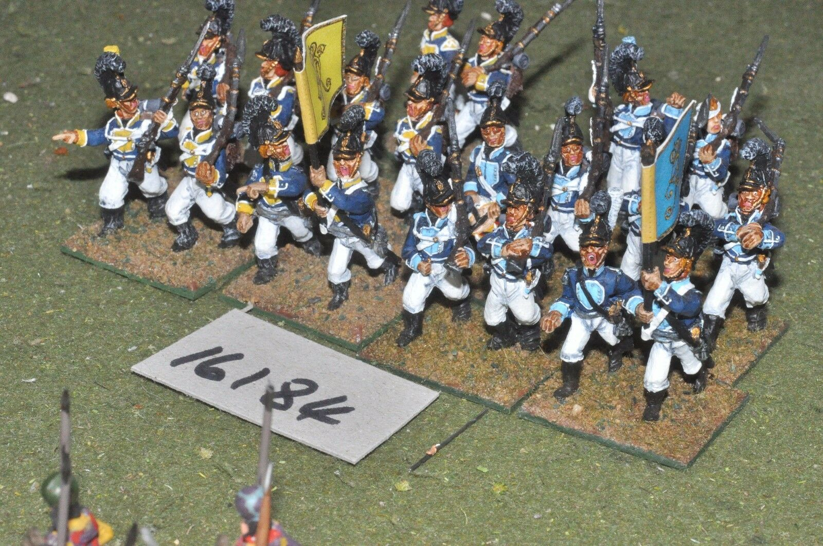 25mm Infantería Napoleónicas Wurttemberg - 20 figuras-INF (16184)