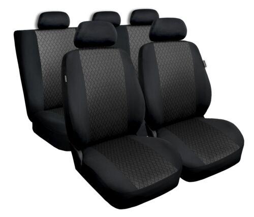Fiat Doblo Grau Universal Sitzbezüge Sitzbezug Auto Schonbezüge PROFI