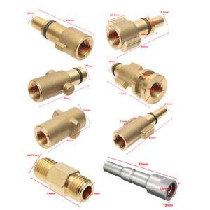 Pressure-Washer-Foam-Lance-1-4-039-039-Adapter-For-Karcher-AQT-Nilfisk-Kew-Alto