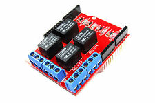 Keyes UNO 4 Channel Relay Shield EB-065 120V AC 24V DC Arduino Flux Workshop