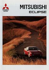 Prospekt Mitsubishi Eclipse 3/94 brochure 1994 Autoprospekt Auto PKWs Sportwagen