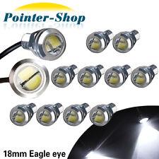 12X Eagle Eye LED 9W 18mm 5730 Bulbs White Motor Car Backup Turn Signal Light