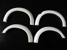 New Tamiya RC 1/10 Toyota Tundra Crawler Truck White Rubber Fender Flare Guard
