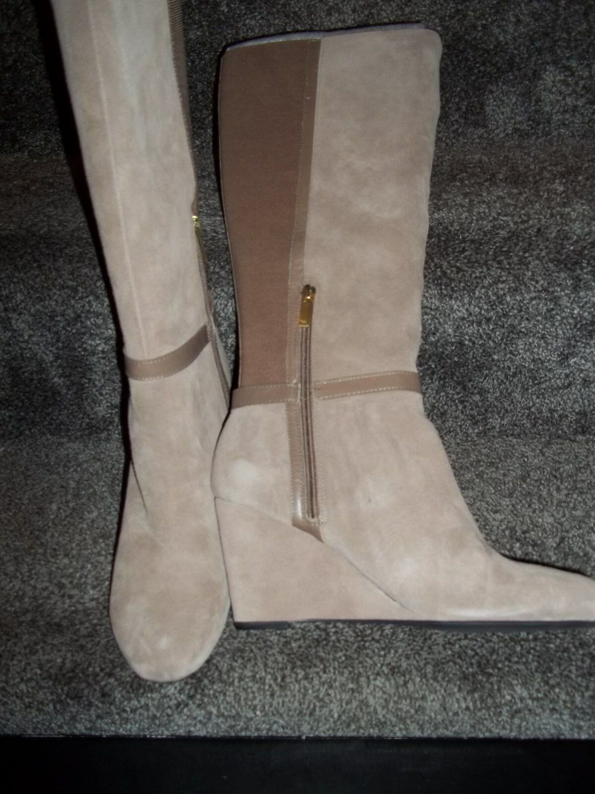 Jone New Damens York Damens New Suede and Leder boot 8f9c32