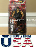 "NECA Black Ryu 7"" Action Figure Toy Street Fighter IV U.S.A. SELLER"