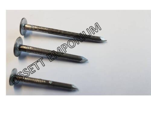 Aluminium Alloy Clout Nails Various Size and Qty 30mm,38mm,50mm Roofing Slate