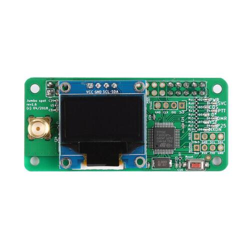 raspberry pi Assembled MMDVM hotspot Support P25 DMR YSF OLED Case Antenna