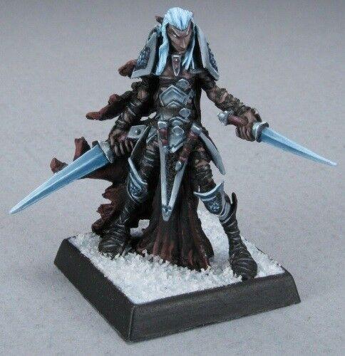 Dark Elf Warrior Darkreach Warlord Reaper Miniatures RPG Ranger Fighter Melee