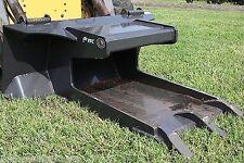 Skid Steer Concrete Claw Attachment by FFC,Driveways,Sidewalk,Fits Bobcat