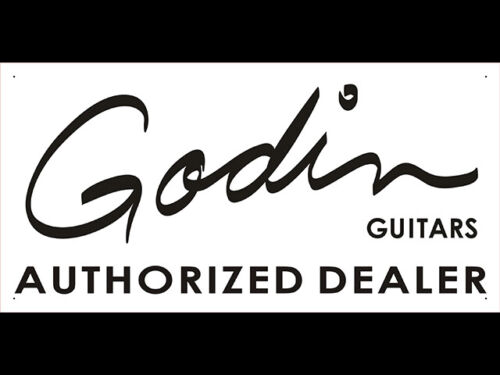 vn2074 Godin Guitar Lounge Live Music Display Banner Sign
