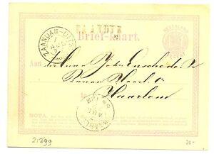NED-EGYPT-LANGST-ZAANDIJK-1872-BRIEFKAART-VW-PR-EX