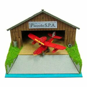 SANKEI Studio Ghibli mini Porco Rosso Piccolo S.P.A Savoia MP07-25 Paper Craft