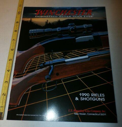 1990 Winchester Gun Catalog