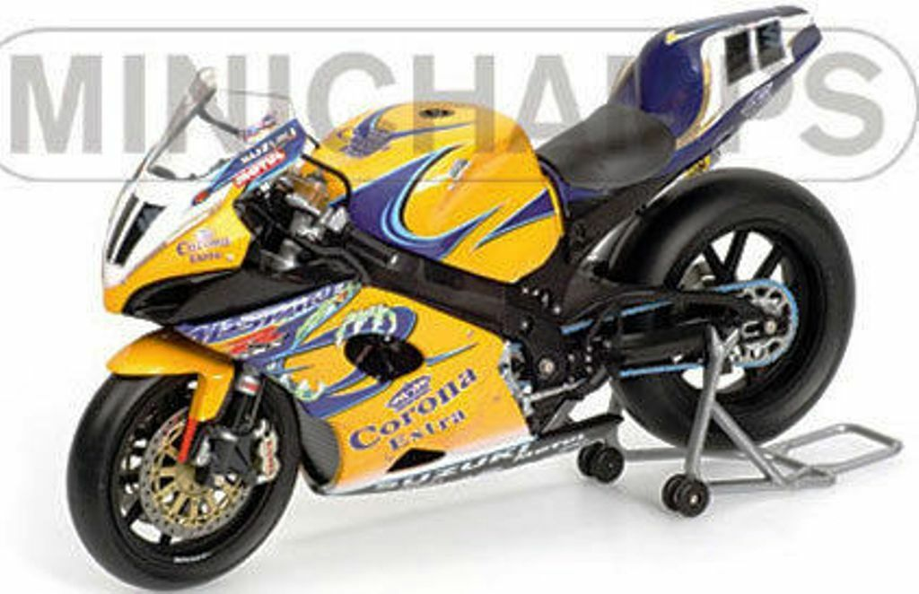 MINICHAMPS 122 052211 Suzuki GSX GSX GSX R1000 bike Troy Corser WSB Champion 2005 1 12th 7c59dd