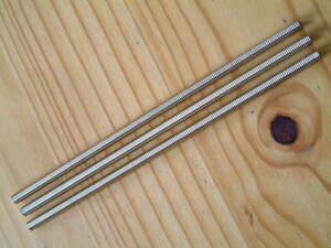 """Quantity 1 Unified 1//4/"""" UNC x 12 Inch Long Steel All Thread Bar \ Studding"""