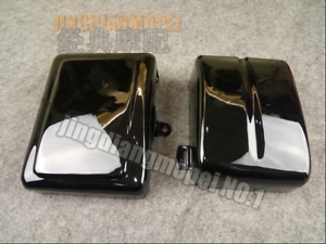Battery Side Covers For Harley Dyna Low Rider Fat Street Bob Super Wide Glide