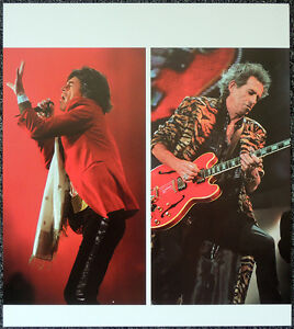 THE-ROLLING-STONES-POSTER-PAGE-1997-KEITH-RICHARDS-amp-MICK-JAGGER-Y93