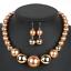 Women-Bohemian-Choker-Chunk-Crystal-Statement-Necklace-Wedding-Jewelry-Set thumbnail 123