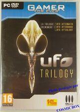 Jeu video PC UFO TROLOGY intégral chasse aux Aliens Microsoft 7 xp vista NEUF