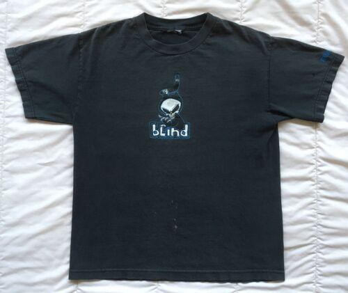 Blind Skateboards Boomerang T Shirt Grim Reaper VT