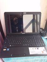 Ordinateur portable TOSHIBA SATELLITE C660D-104 Windows 10 500 GO Comme neuf