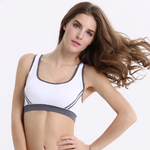 Women Suitable Shockproof Gathering Yoga Fitness Running Sports Beauty Vest Bra