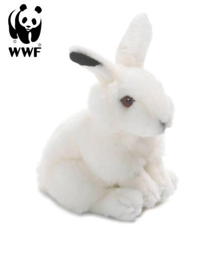lebensecht Kuscheltier Stofftier Hase NEU WWF Plüschtier Schneehase 15cm