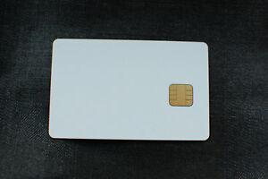 Details about Gold Wafer Card PIC16F84+24LC16 blank smartcard