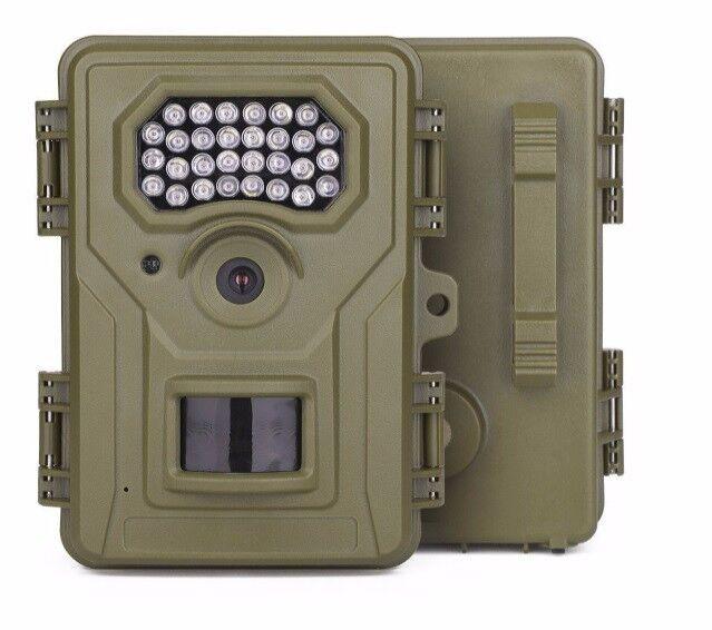 Walsung Animal Trail Kamera -12MP 1080P Infrarot Wildlife Surveillance Camera