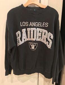 9dd8f70c3 VINTAGE 80s 90s OG Los Angeles Raiders Logo Athletic Crew Sweatshirt ...