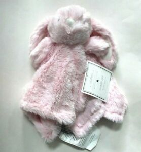 Manhattan-Kids-Baby-Pink-Bunny-Fur-Plush-Cuddly-Pal-Security-Blanket