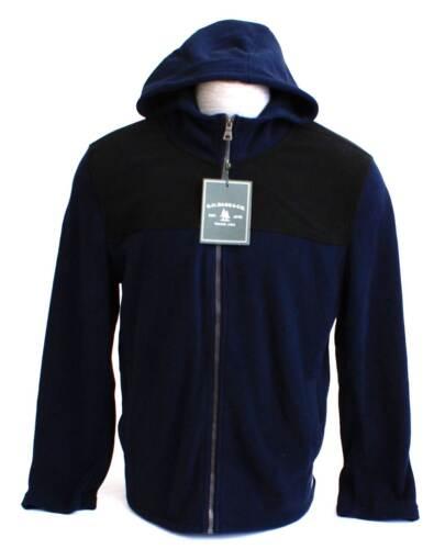 hommes polaire Veste bleu à capuche Bass Co G H noir pour Igr6HKqarw