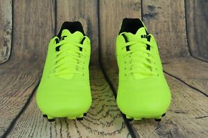 c151ba49970 Nike Tiempo Genio II Leather FG Soccer Cleat Volt   Black 819213-707 ...