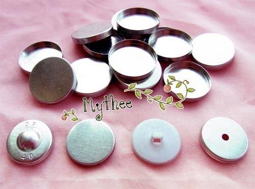 Free Shipping Regular Mushroom or Flat top NO.20//24//28//32//36-100pcs Buttons