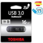 PENDRIVE 16GB TOSHIBA USB 3.0 70MB/s MEMORIA 2.0 16 GB ORIGINAL PEN DRIVE P1625