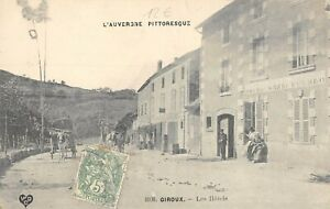 CPA-63-GIROUX-LES-HOTELS