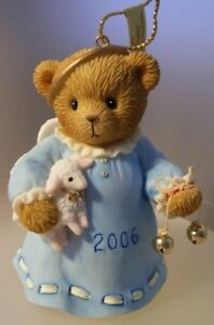 """CHERISHED TEDS NEW - """"ANGEL HANGING ORNAMENT"""" 4005870  MINT IN BOX"""