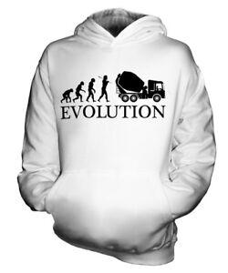 BETONMISCHER-EVOLUTION-DES-MENSCHEN-KINDER-KAPUZENPULLOVER-HOODIE-JUNGEN-MADCHEN
