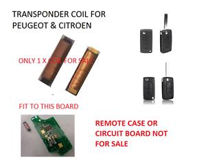 Details about CITROEN C1 C2 C3 C4 REMOTE KEY TRANSPONDER COIL FOR ANTI  THEFT IMMOBILISER FAULT