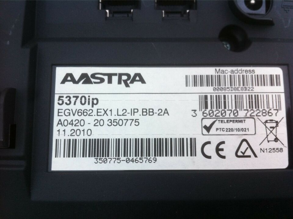 IP telefon, Astra, 5370ip