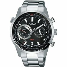 Pulsar Mens Stainless Steel Bracelet Watch PY7005X1 RRP £125