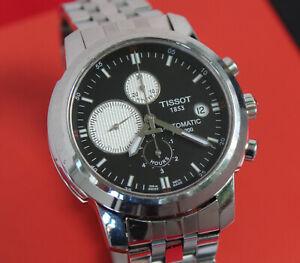Detalles de Tissot PRC 200 chronograph t014427a automático reloj hombre 45 mm con Box ver título original